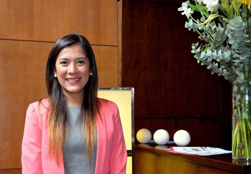 Genoveva García, gerente de relaciones públicas de Sunset World Resorts