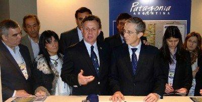 Los ministros quieren potenciar turísticamente la región del Alto Valle de Río Negro y Neuquén.
