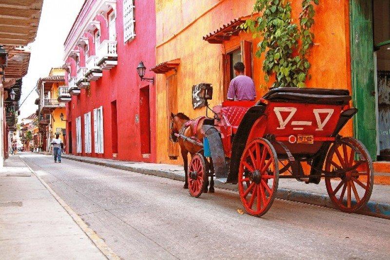 Cartagena, puerta al Caribe de Colombia