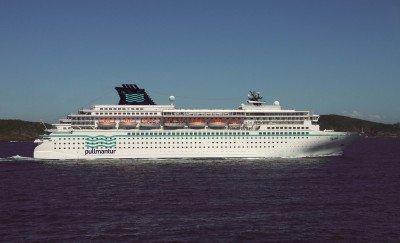 El crucero tiene capacidad para 1828 pasajeros.