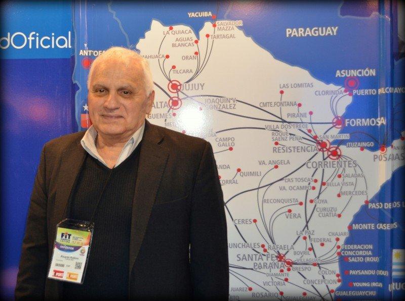 Ricardo Rubino, Gerente Comercial Corporativo de Flecha Bus.