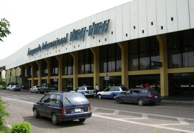 Aeropuerto Internacional Viru Viru.