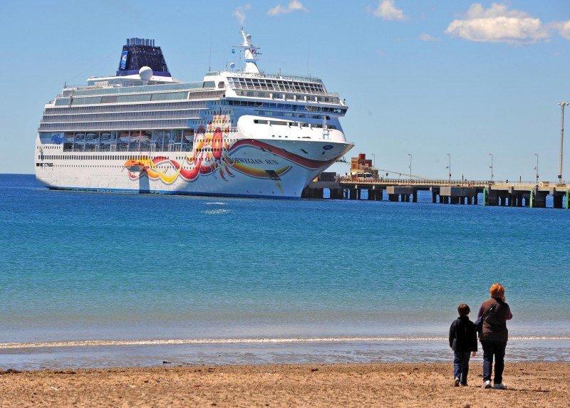 Este año por primera vez un crucero hará noche en Puerto Madryn.