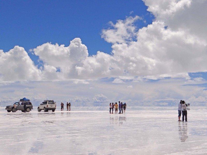 El salar de Uyuni es el destino más visitado por los extranjeros.