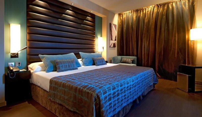El hotel Pestana Arena Barcelona dispone de 84 habitaciones, de las que 11 son junior suites.