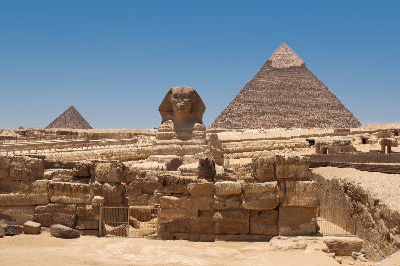 Los españoles viajan especialmente a enclaves culturales de Egipto. #shu#
