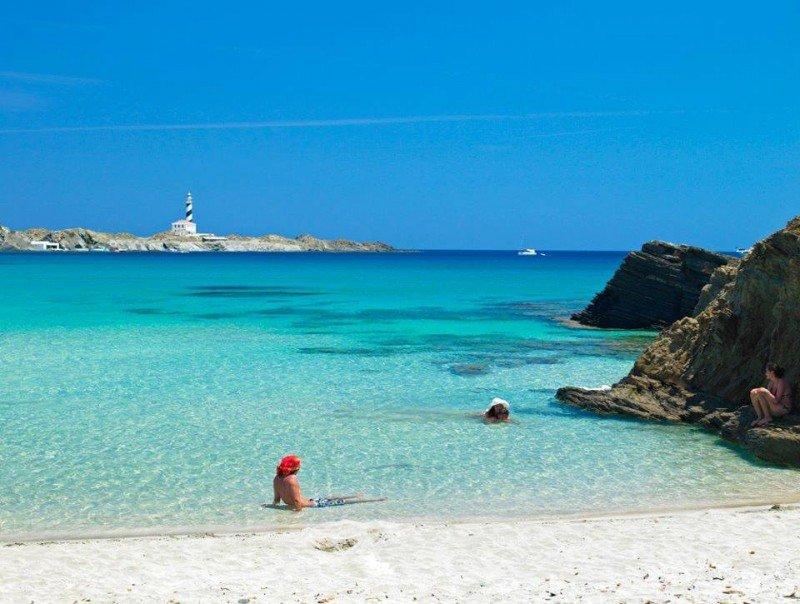 Cala Presili, en Menorca.