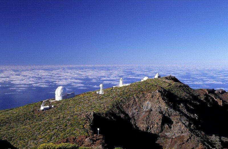 Observatorio Roque de los Muchachos, en La Palma.
