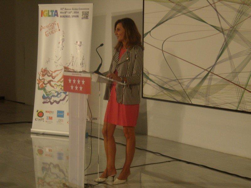 Primera comparecencia de Marta Blanco, directora de Turespaña, tras su toma de posesión.
