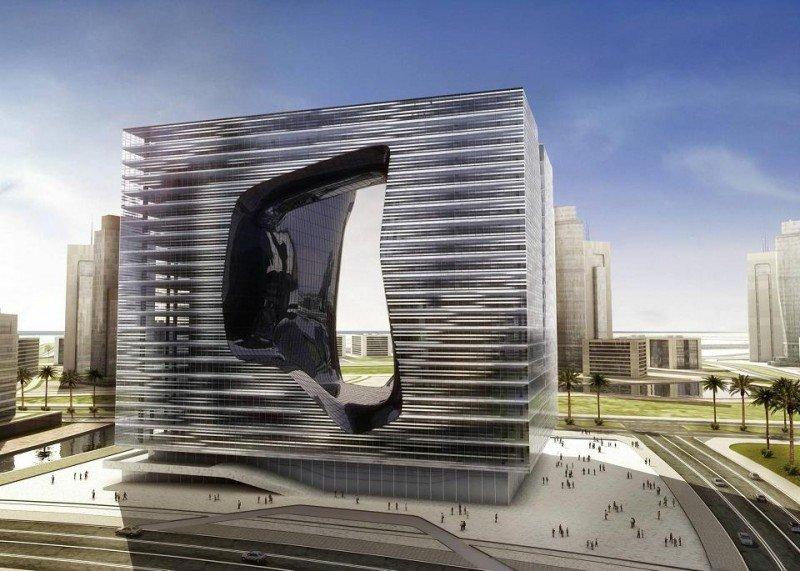 El edificio Opus, diseñado por Zaha Hadid, albergará el futuro ME Dubai.