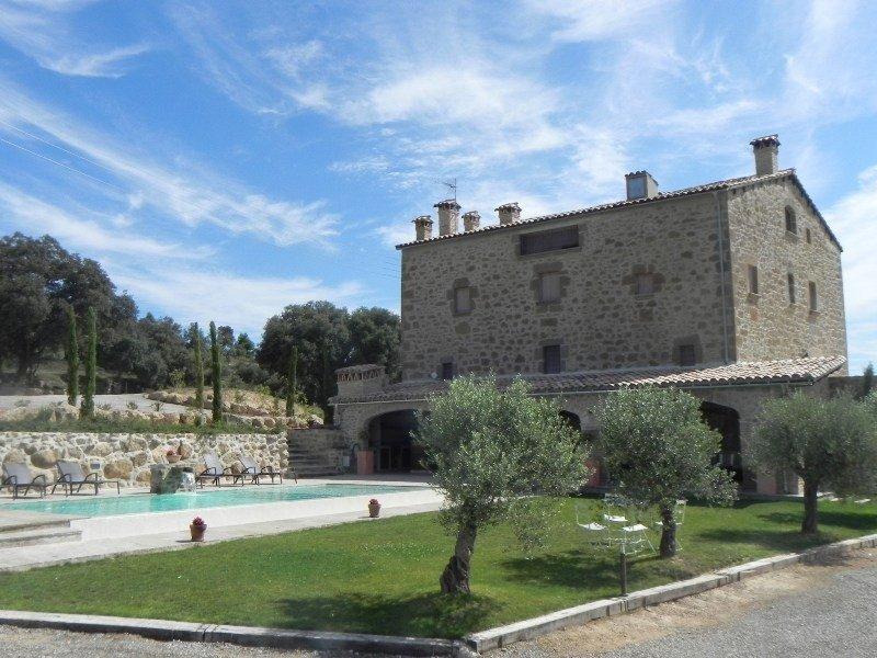 Una casa rural con piscina en la comarca catalana del Solsonès, Lleida.
