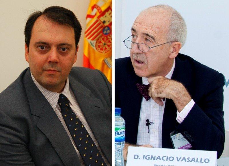 Félix de Paz, director de la OET de Moscú, e Ignacio Vasallo, director de la OET de París.