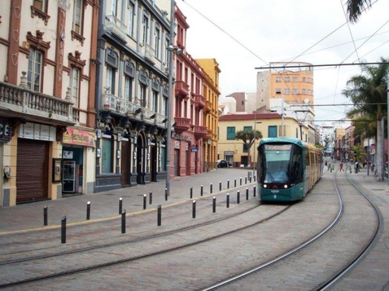 El tranvía de Santa Cruz de Tenerife. #shu#