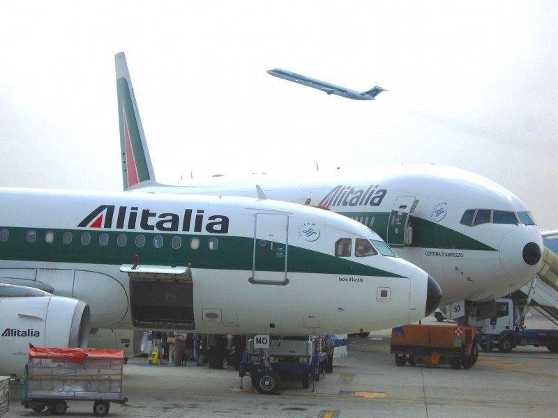 Alitalia, luchando para mantenerse a flote