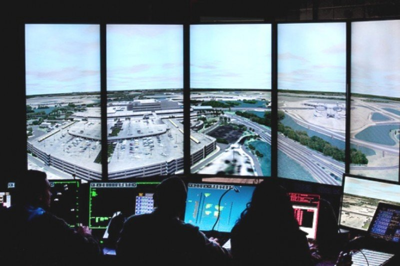 Control aéreo en EEUU, casi en alerta amarilla por el cierre del Gobierno