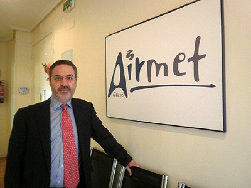 Juan José Oliván, presidente de Airmet.