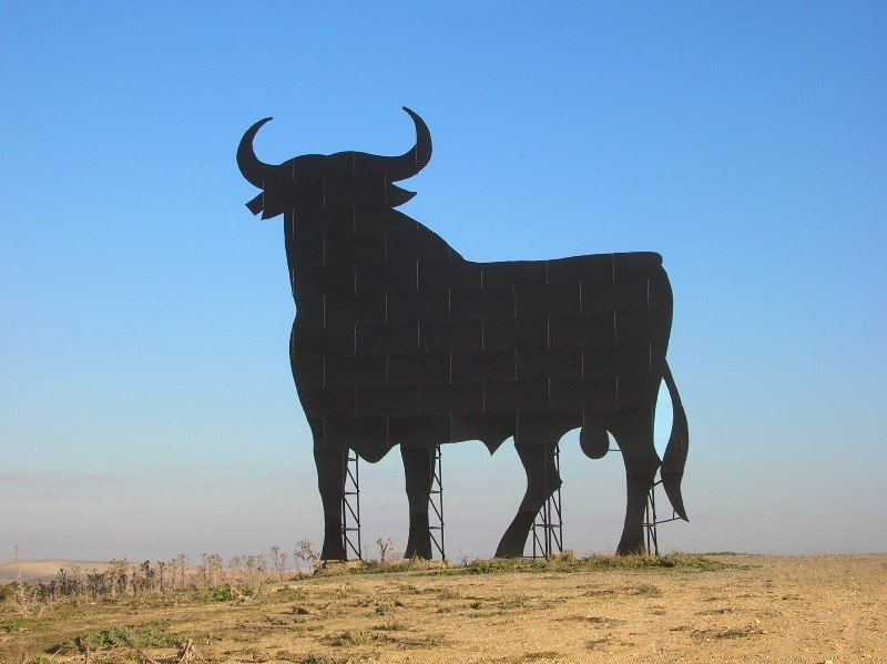 El toro de Osborne. Imagen: Creative Commons / Grez.