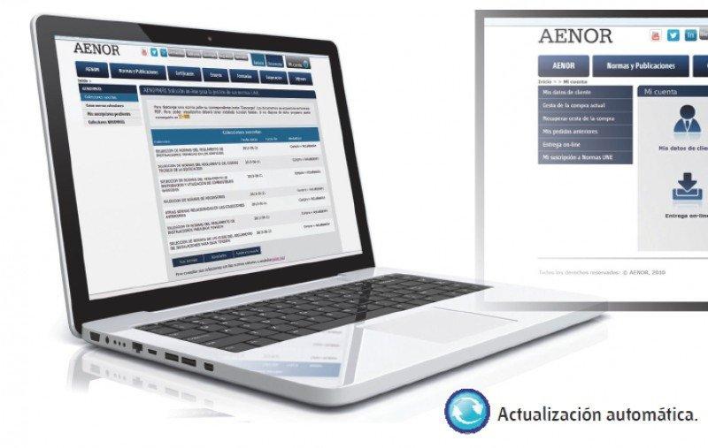 Aenor ofrece un nuevo servicio online.