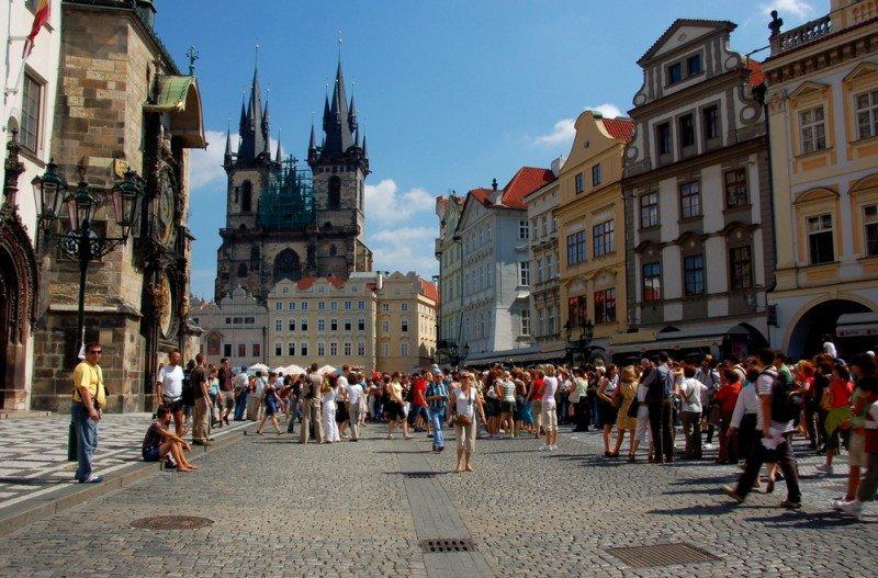 El sector turístico checo vive un buen momento. #shu#.