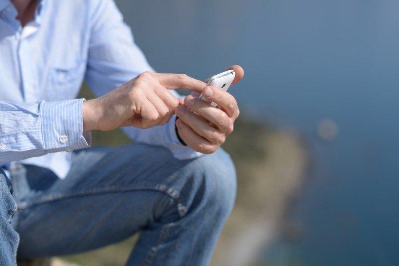 Los móviles se usan sobre todo para la última hora. #shu#.