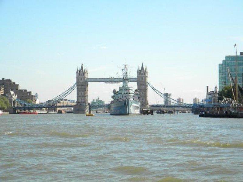 Los cruceros por el Támesis son los más populares.