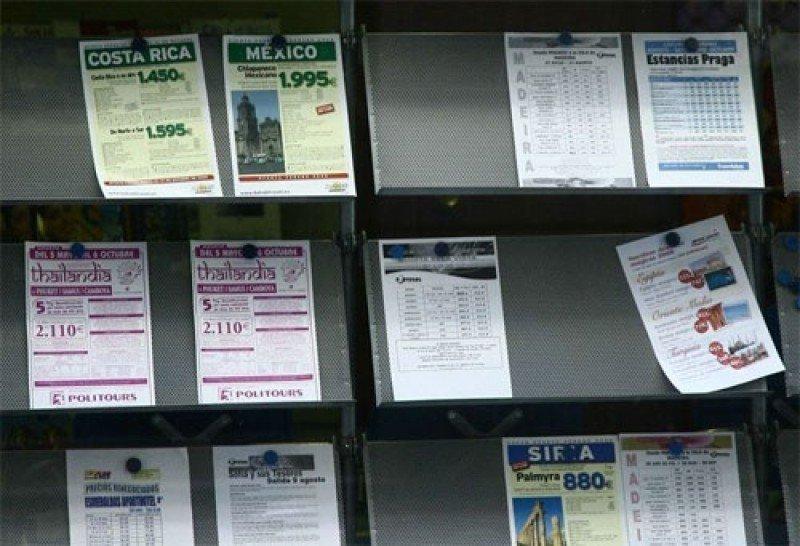 El número de afiliados en agencias de viajes cae un 4% en septiembre
