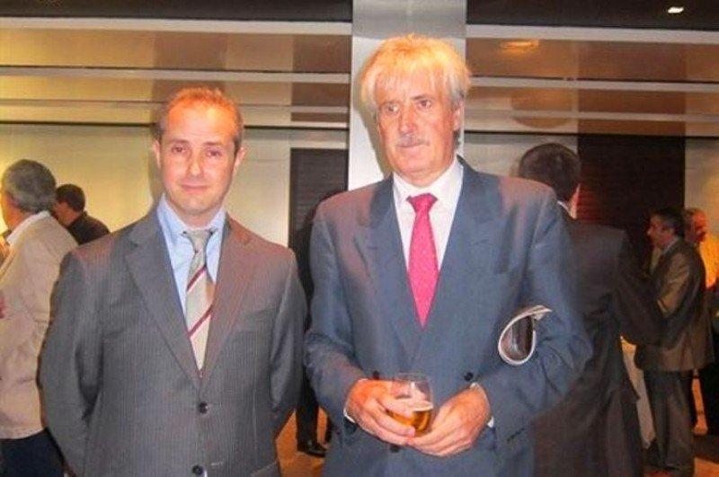 A la izquierda, Dairo Quiroga de Prado, presidente de Inter Global.