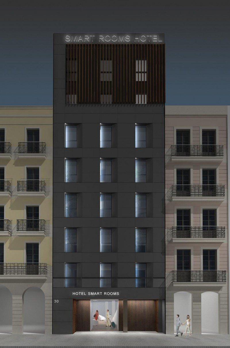 El futuro hotel Smart Trafalgar.