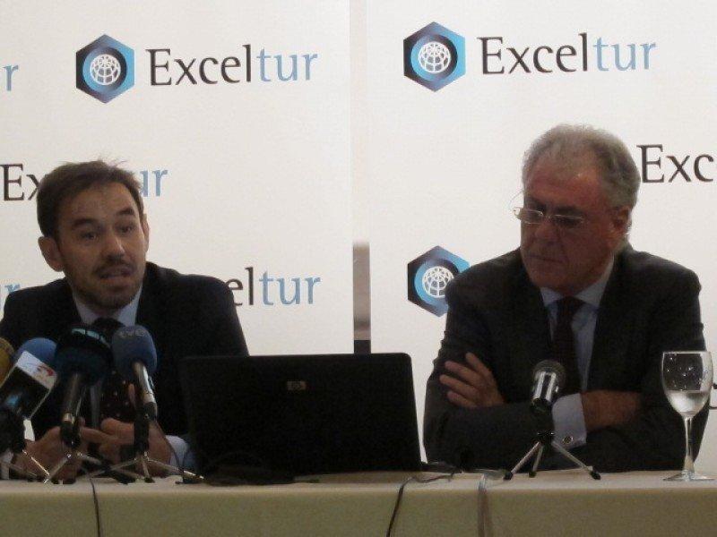 Exceltur prevé que 2013 se cerrará con un crecimiento del 0,2% del PIB turístico.
