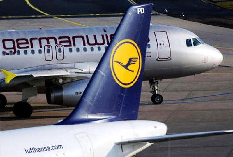 Lufthansa y Germanwings: en invierno cada 50 segundos despegará uno de sus vuelos