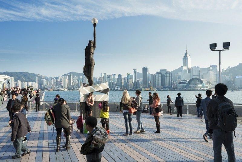 Hong Kong fue el segundo destino por ingresos, con un incremento del 25%. #shu#