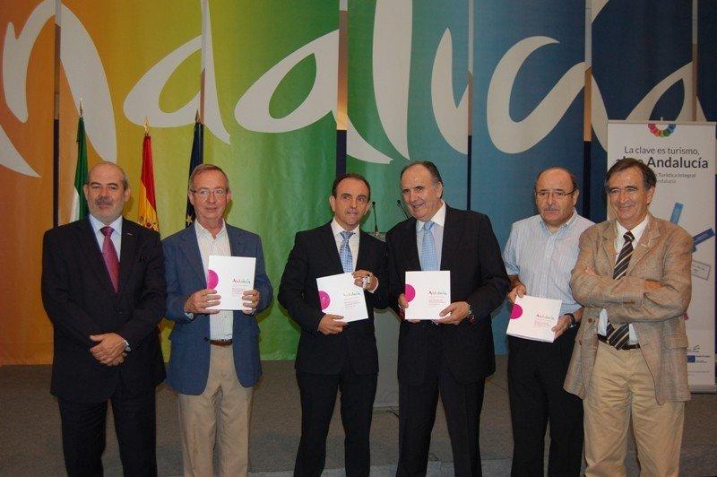 Presentación del Plan Director de Turismo de Andalucía 2013-2016.
