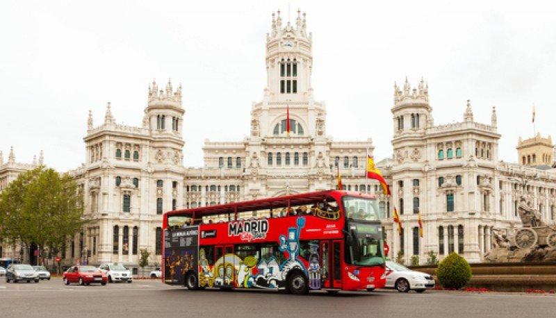 El bus turístico de Madrid. #shu#