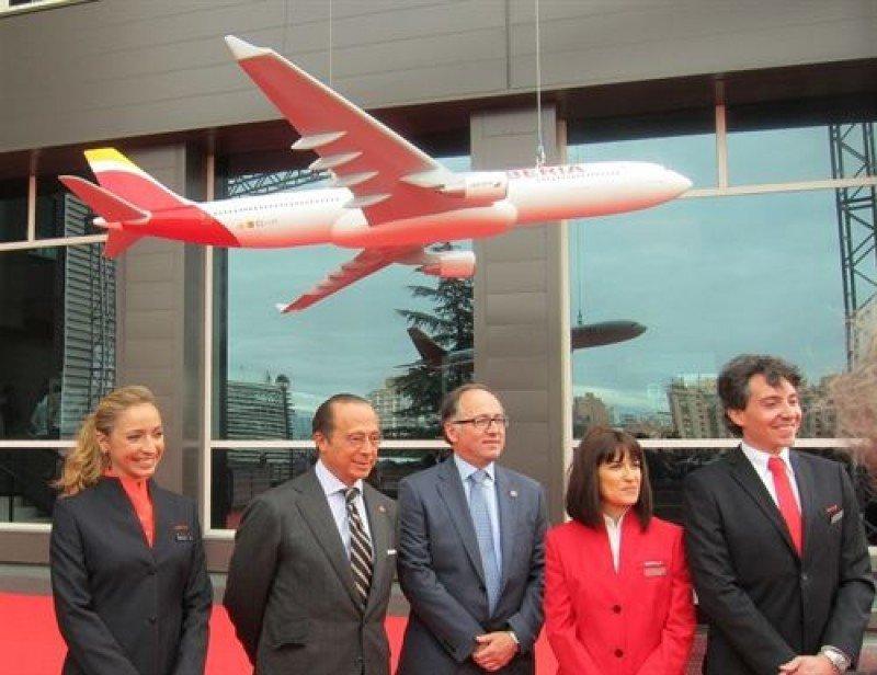 Presentación de la nueva imagen de Iberia.