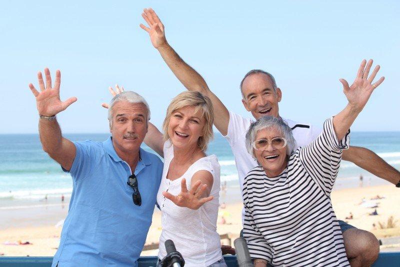 El programa Turismo Senior Europa está destinado a los mayores de 55 años. #shu#