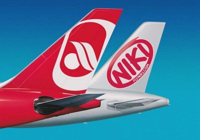 Airberlin y su filial austríaca Niki operarán 22 vuelos directos a seis destinos alemanes y cinco a Viena.