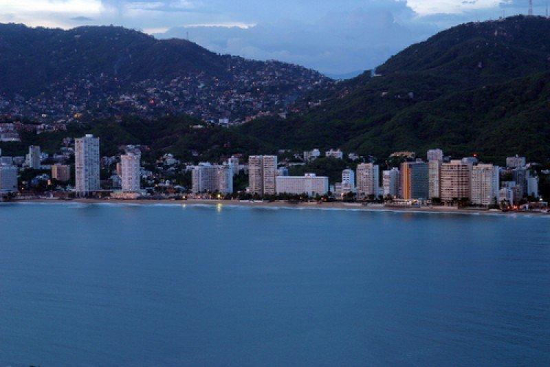 La bahía de Acapulco. #shu#