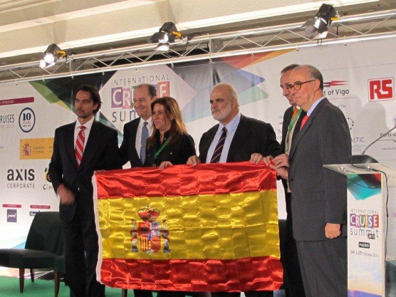 Ayer se presentó en el International Cruise Summit el comité directivo de CLIA España.