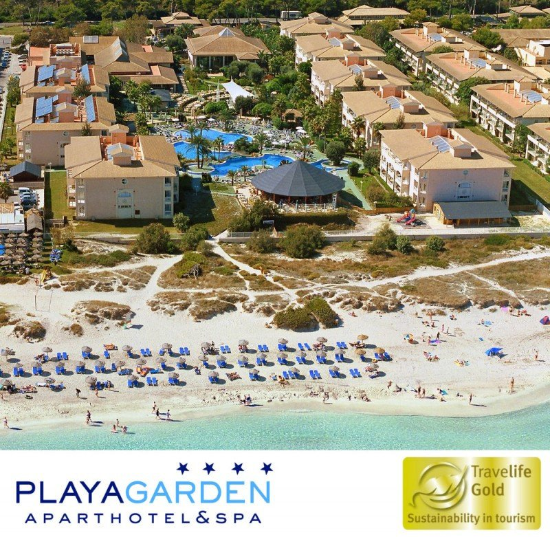 Playa Garden Hotel & Spa recibe la certificación Travelife Gold
