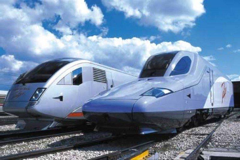 Trenes Talgo vendidos a Rusia.