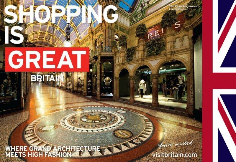 Los turistas extranjeros se gastan 5.200 millones de euros en compras en Gran Bretaña