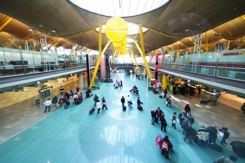El aeropuerto de Barajas ha perdido un gran número de vuelos y conexiones. #shu#
