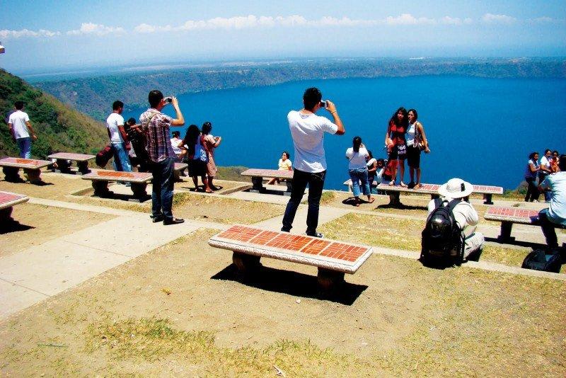 Mirador de Catarina, uno de los puntos de mayor atracción en Nicaragua