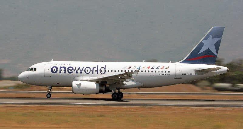 Lan Airlines pertenece a oneworld desde el año 2000