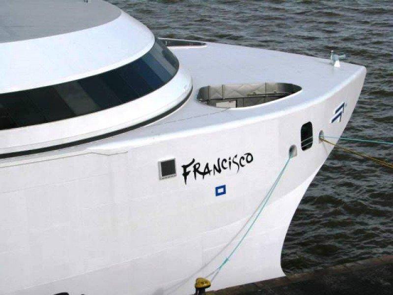 Problemas técnicos obligaron a cancelar el primer viaje con pasajeros del nuevo barco