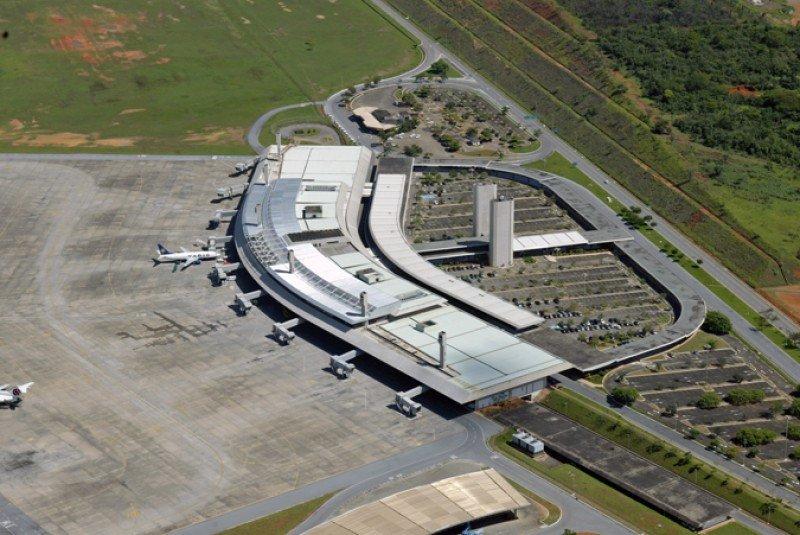 Aeropuerto Confins de Belo Horizonte, Minas Gerais. Foto: Infraero