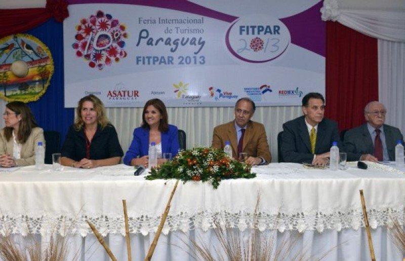 Inauguración de la Feria de Turismo de Paraguay. Foto: diario ABC
