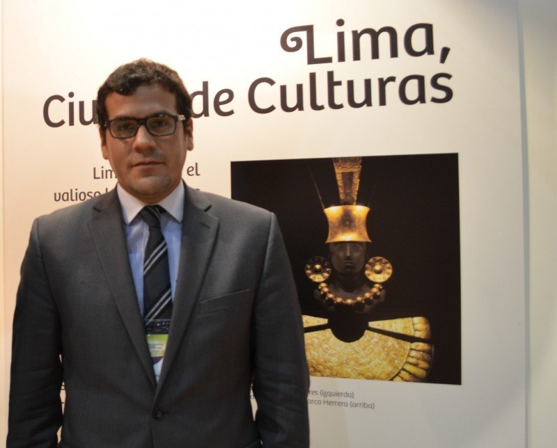 Augusto Lamas, representante de la Embajada de Perú en Argentina.
