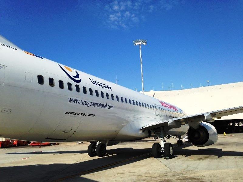 La compañía está muy satisfecha con el desempeño de su vuelo a Uruguay