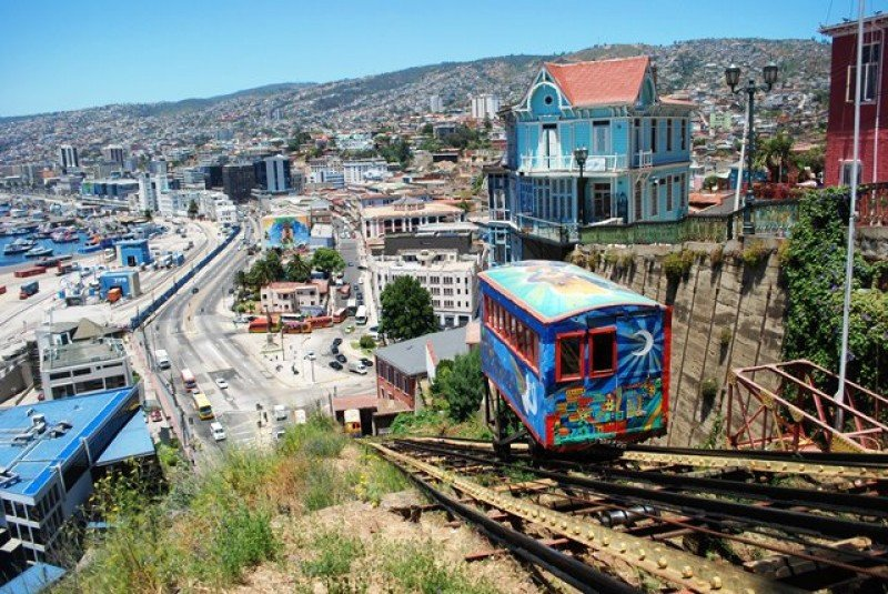 Ascensores de Valparaíso, Chile.